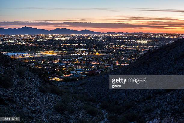 Sunset over Phoenix