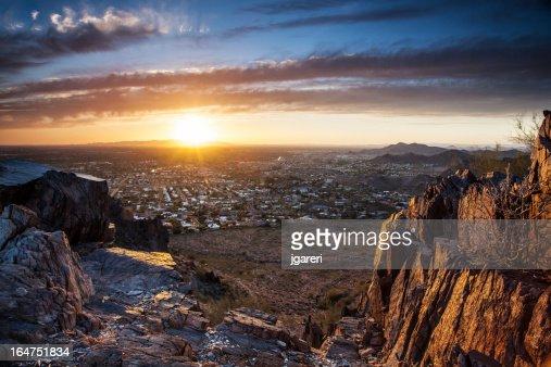 Coucher de soleil à Phoenix