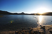 Sunset Over Usori Lake