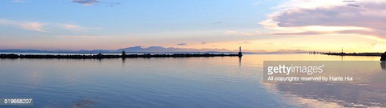 Sunset Panoramic Steveston