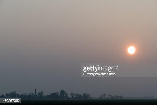 Sunset. : Stock Photo