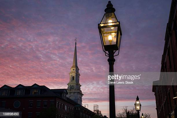 Sunset, Portsmouth, New Hampshire