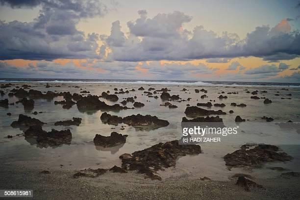 Sunset Rocks | Anibare Beach | Nauru