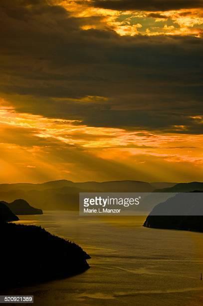 Sunset Saguenay