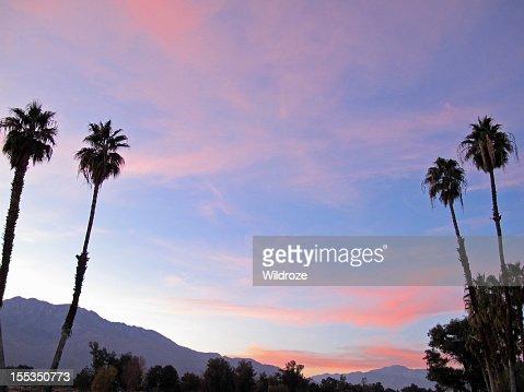 Sunset San Jacinto Mountain Palm Springs