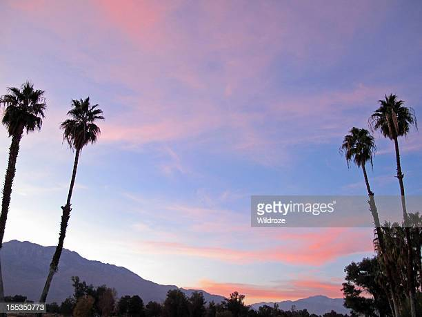Sunset San Jacinto Mountain Palm Springs
