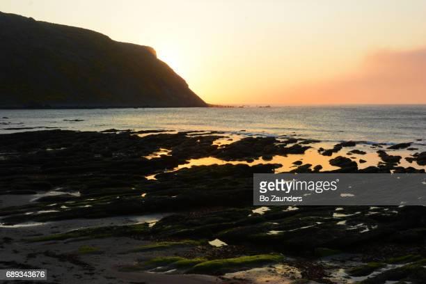 sunset, Scotland Coast