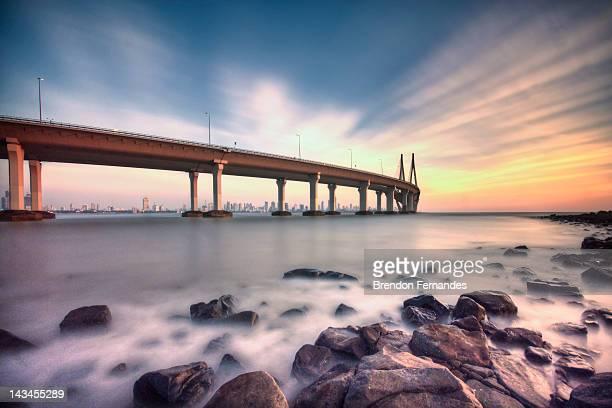 Sunset - sea link