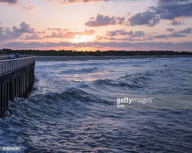 Sunset Sebastian Inlet