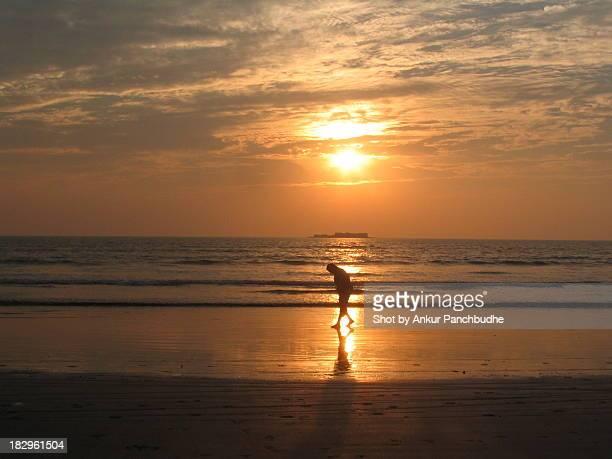 Sunset sillehouttes at Murud