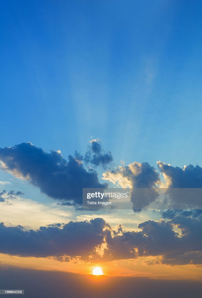 Sunset sky : Stock Photo