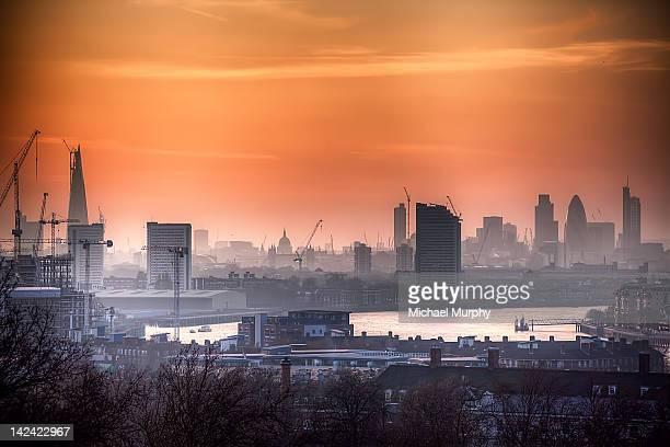 Sunset smog