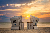 Sunset at Kampen beach - Sylt, Kampen, Germany