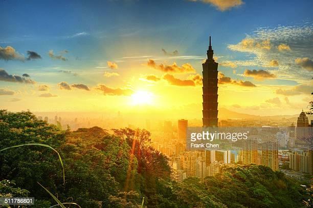 Sunset Taipei 101