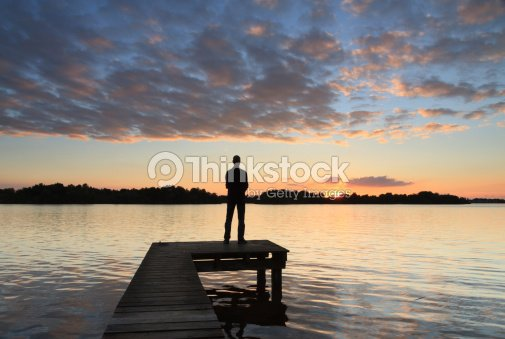 Sunset thoughts : Stock Photo