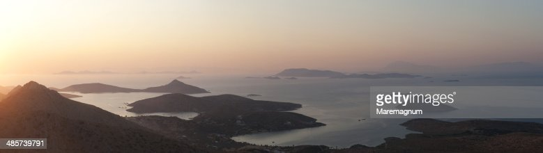 Sunset view from Klidi Mountain