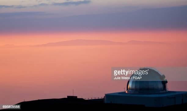 Sunset view of Mauna Kea