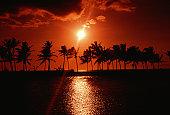 Sunset, Waikoloa, Hawaii, USA