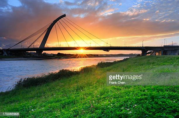 Sunset with Bridge