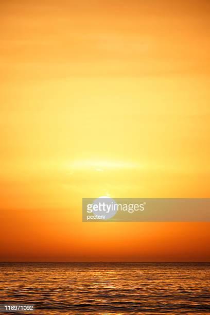 Coucher de soleil, lever du soleil