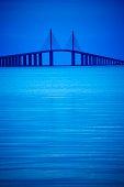 Sunshine Skyway Bridge near St. Petersburg, Florida