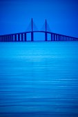 Sunshine Skyway Bridge near St. Petersburg, Florida