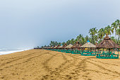 A public beach in Badagry. About 70 Km from Lagos , very close to Nigeria and Benin Republic borders