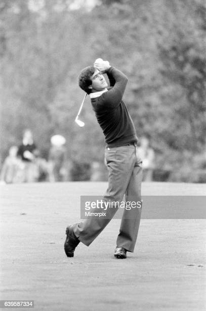 Suntory World Match Play Championship at Wentworth Friday 7th October 1983 Seve Ballesteros