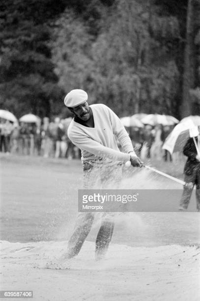 Suntory World Match Play Championship at Wentworth Friday 7th October 1983 Calvin Peete