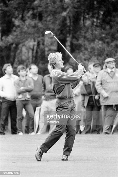 Suntory World Match Play Championship at Wentworth Friday 7th October 1983 Bernhard Langer