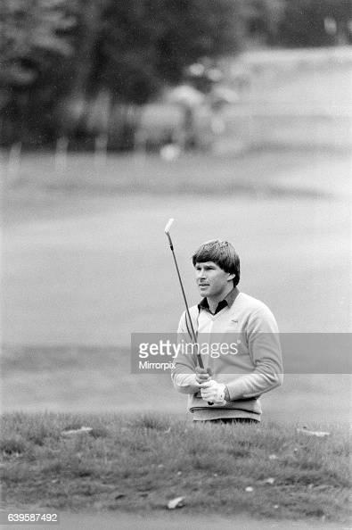 SuntoryWorld Match Play Championship at Wentworth Friday 7th October 1983 Nick Faldo