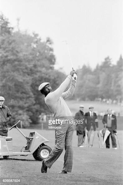 SuntoryWorld Match Play Championship at Wentworth Friday 7th October 1983 Calvin Peete