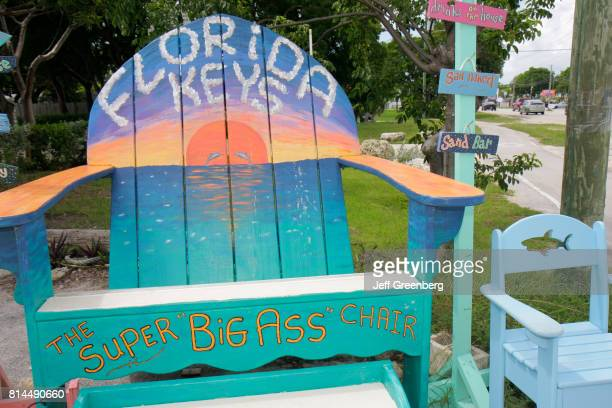Super Big Ass Gallery hand painted Adirondack chair
