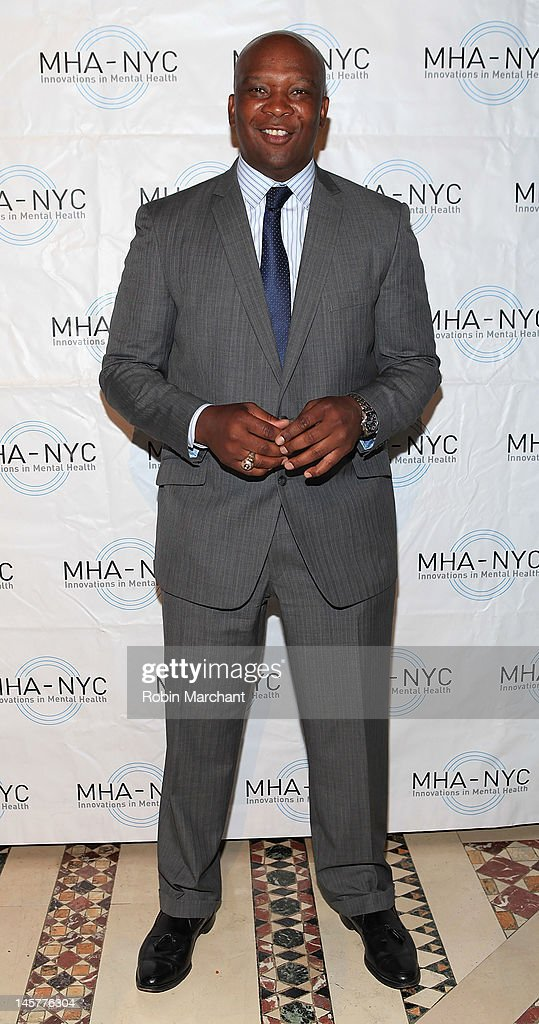 Super Bowl Winner Howard Cross attends Bridges To Mental Health: A Celebration Of Hope Gala at Cipriani 42nd Street on June 5, 2012 in New York City.