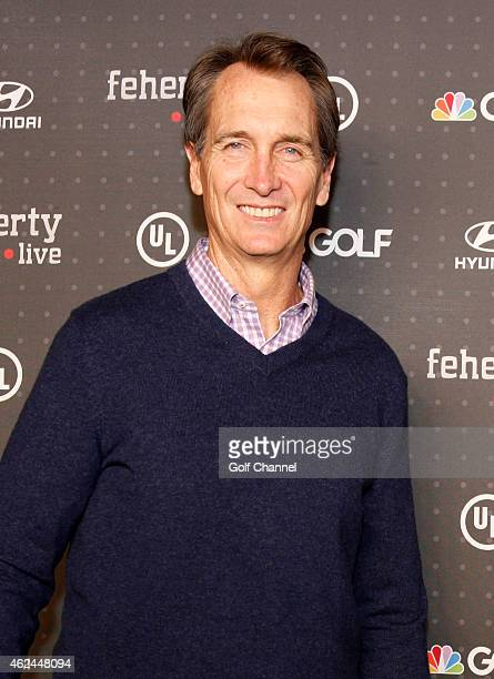 NBC Sportscaster Cris Collinsworth attends 'Feherty Live' at the Orpheum Theatre Phoenix Arizona