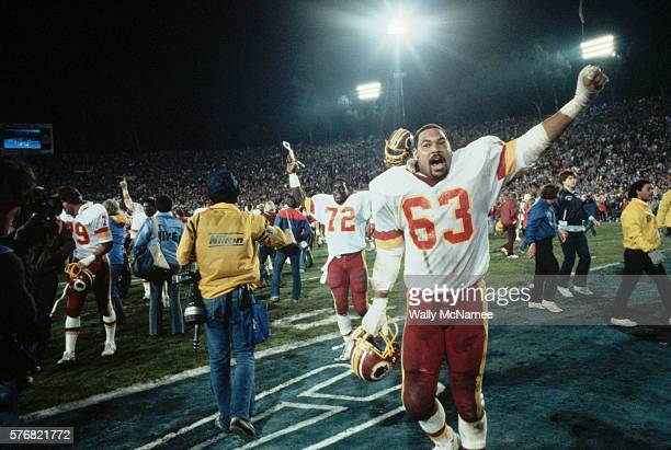Super Bowl XVII was played in the Rose Bowl by the Washington Redskins and the Miami Dolphins Washington defeated Miami 27 to 17 In the background is...