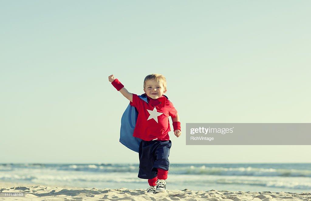 Super Boy! : Stock Photo