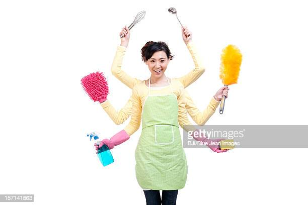 Super busy housewife