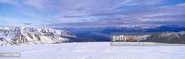 Super Cub Piper bush airplane WrangellSt Elias National Part Alaska