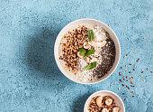 Super food smoothie bowl. Healthy Breakfast