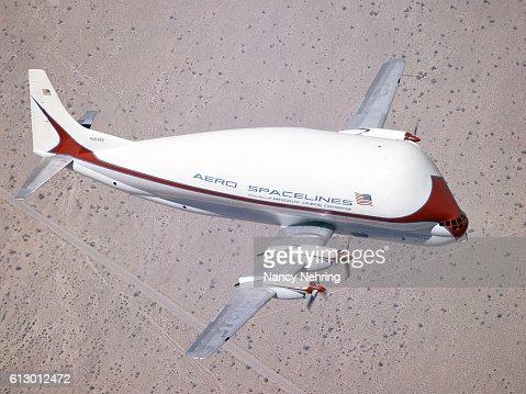 Super Guppy in flight 1965