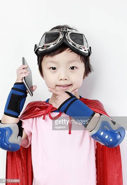 super-Helden rufen Sie uns an