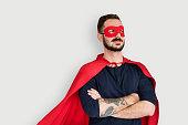 Super Hero Costume Fun Concept