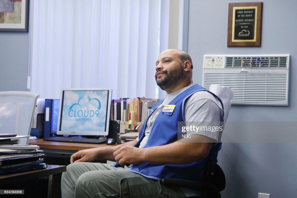 SUPERSTORE -- 'Super Hot Store' Episode 215 -- Pictured: Colton Dunn as Garrett --