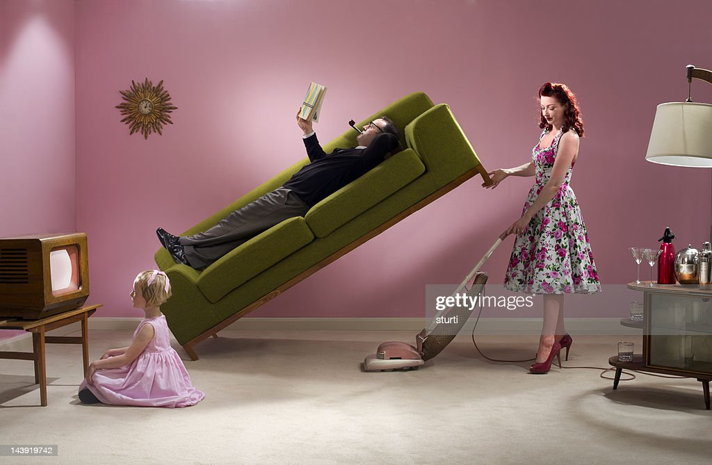 super housewife : Stock Photo