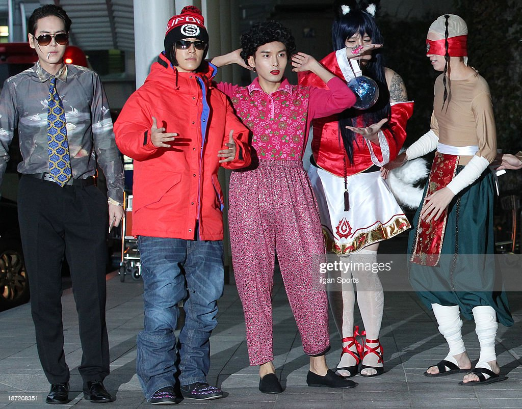 Super Junior Cosplay Performance At Incheon International Airport