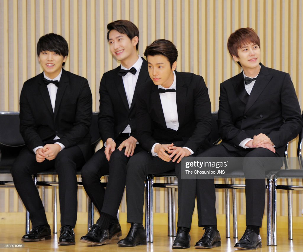 "SBS FUN E ""Super Junior M's Guest House"" Press Conference"