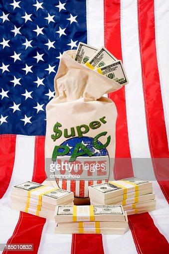 Super PAC -Flag