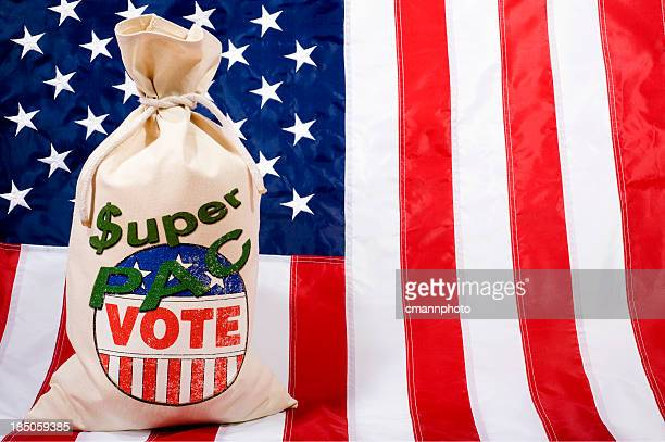 Super PAC - Flag