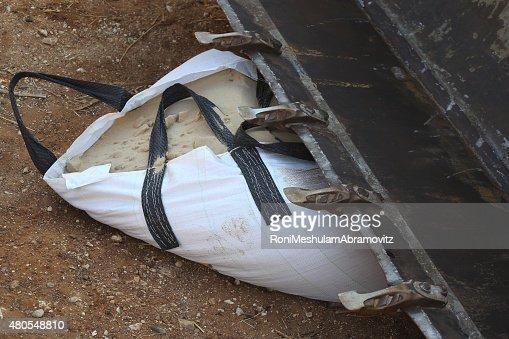 Super saco bolsa. : Foto de stock